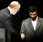 Ahmadinejad at Columbia Promotes Israel's 'Implosion'